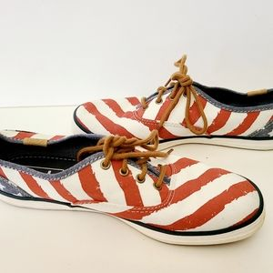 Stars And Stripes Keds Sneakers Size 7